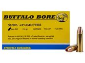 BUFFALO BORE Ammunition 20F 38 SPL +P